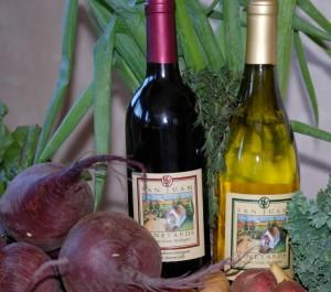 wine-veggies